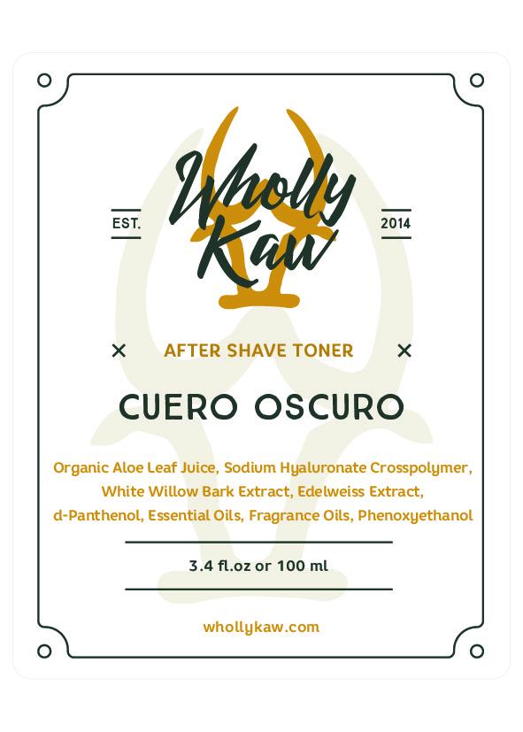 Wholly Kaw - Cuero Oscuro - Toner image