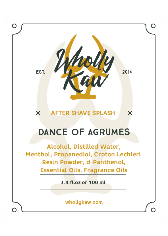 Wholly Kaw - Dance of Agrumes - Aftershave image