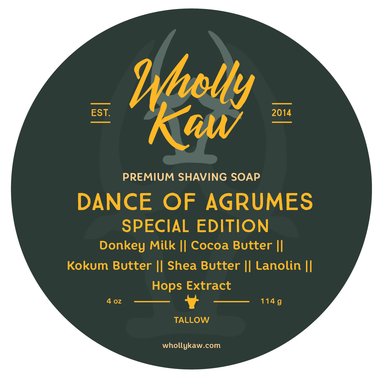 Wholly Kaw - Dance of Agrumes - Soap image