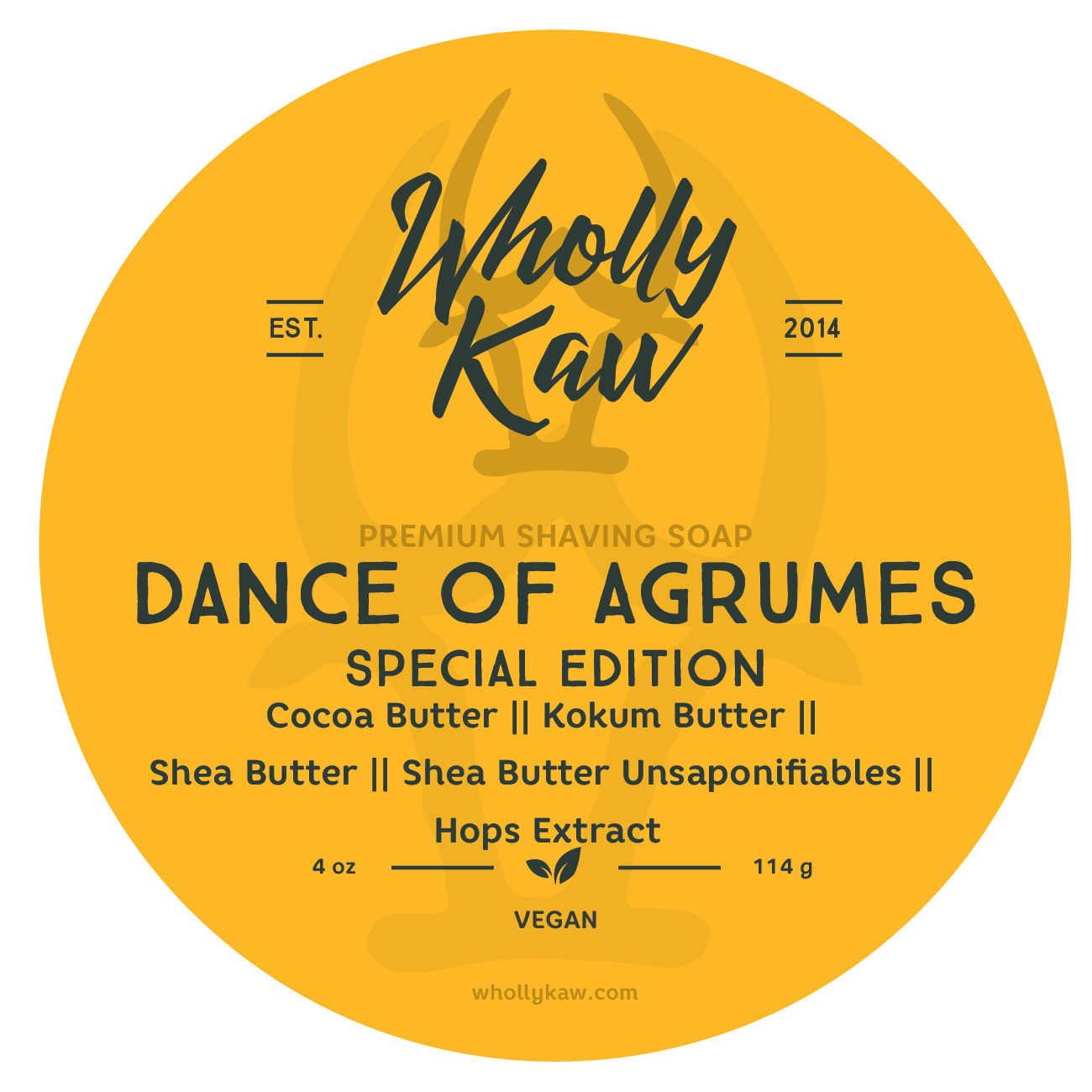 Wholly Kaw - Dance of Agrumes - Soap (Vegan) image