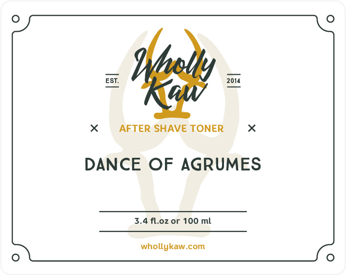 Wholly Kaw - Dance of Agrumes - Toner image