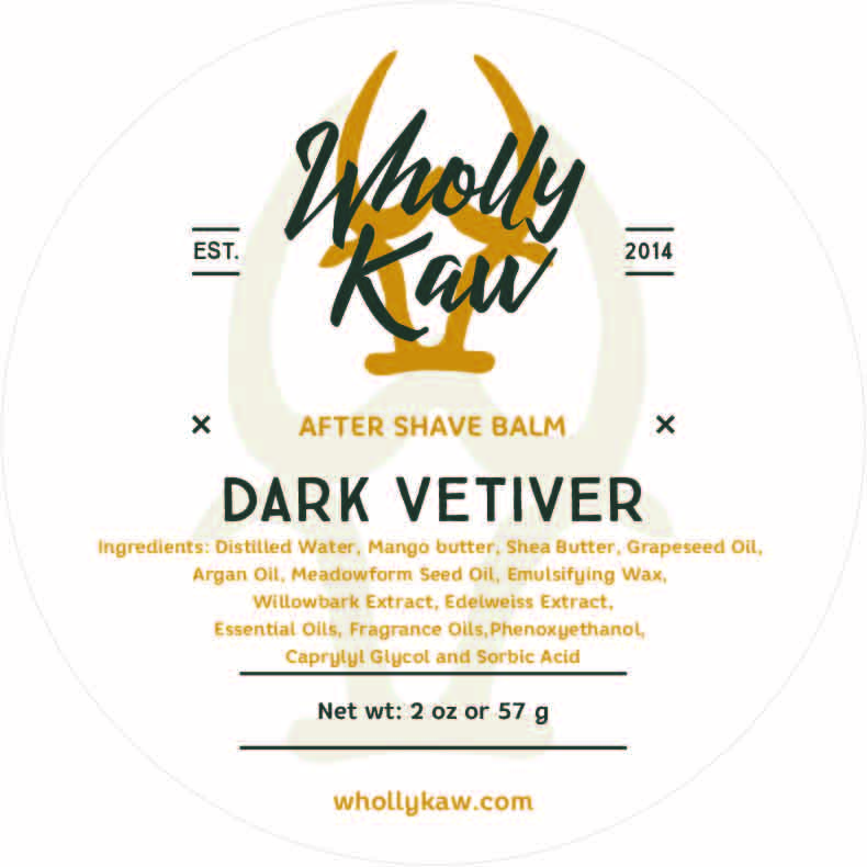 Wholly Kaw - Dark Vetiver - Balm image