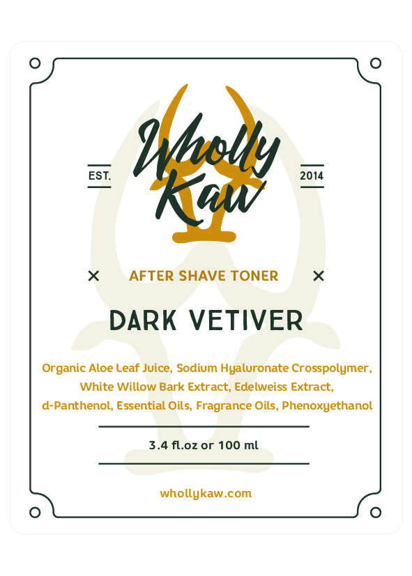 Wholly Kaw - Dark Vetiver - Toner image