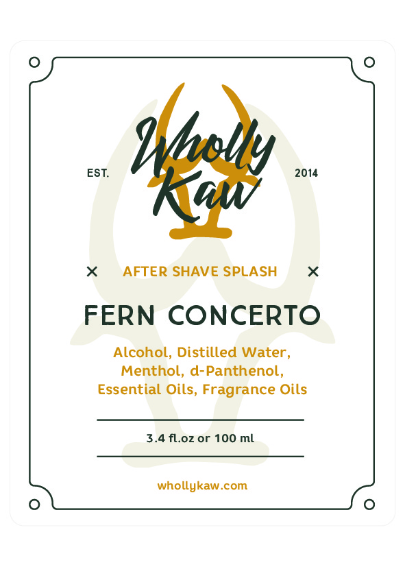 Wholly Kaw - Fern Concerto - Aftershave image