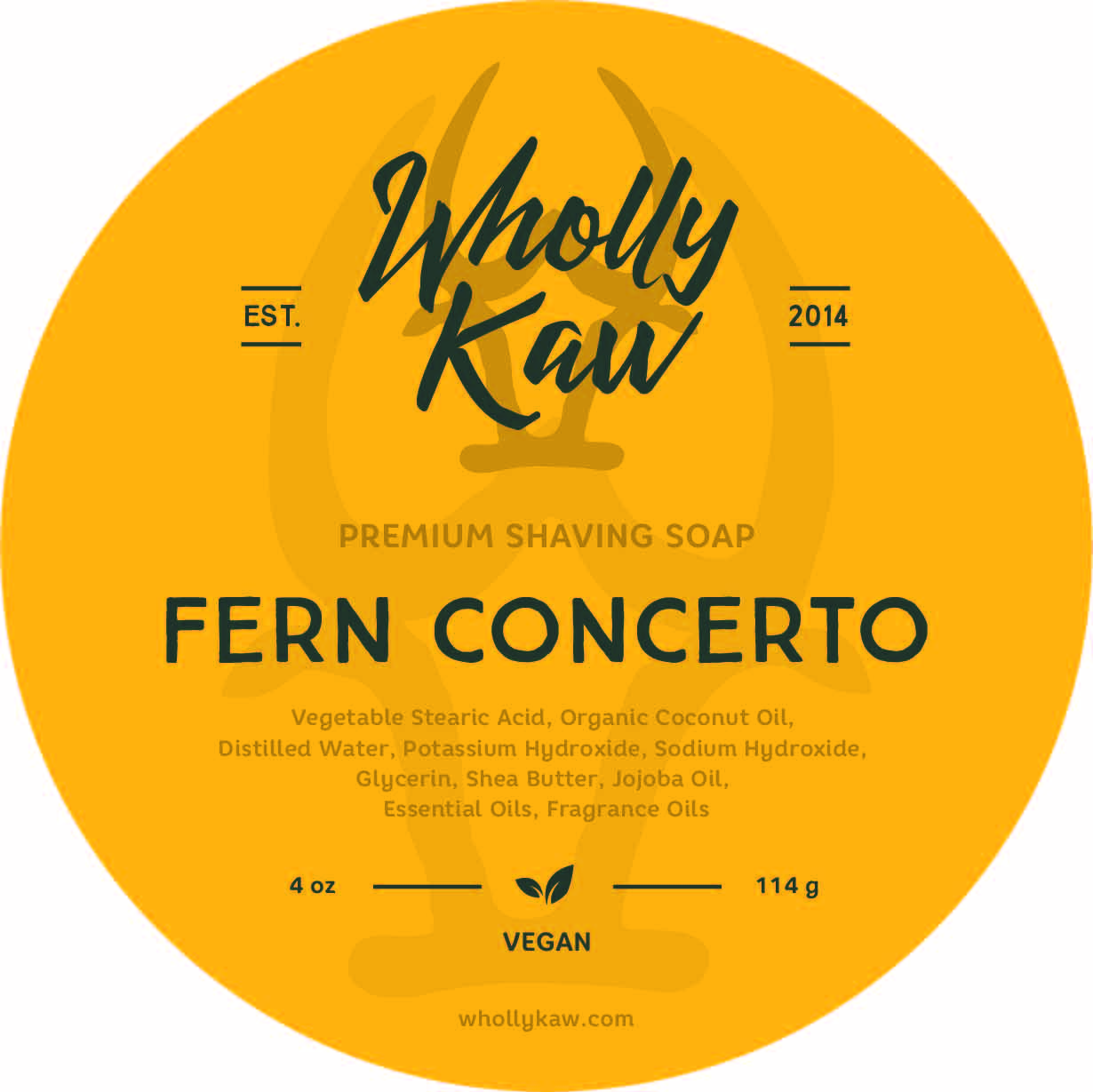 Wholly Kaw - Fern Concerto - Soap (Vegan) image