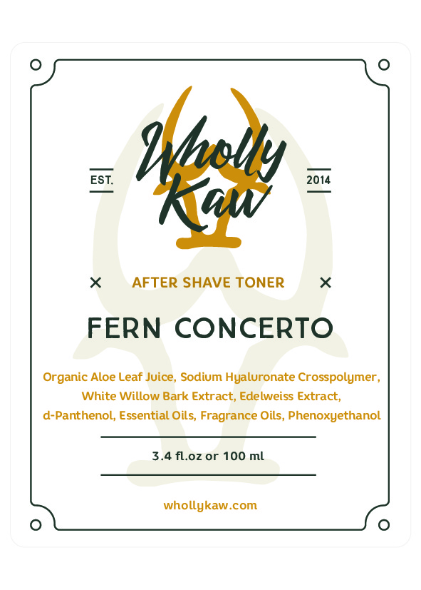 Wholly Kaw - Fern Concerto - Toner image