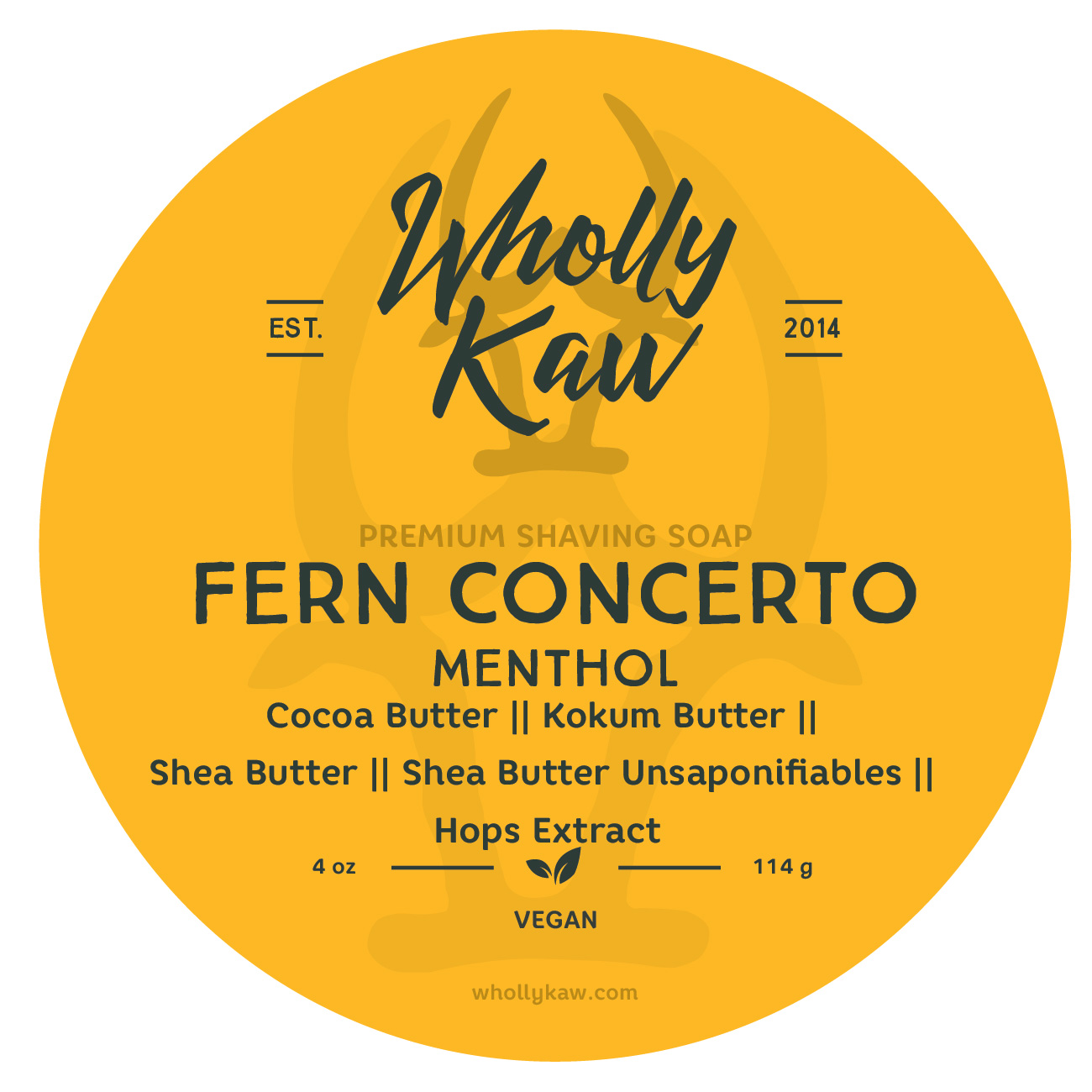 Wholly Kaw - Fern Concerto (Mentholated) - Soap (Vegan) image