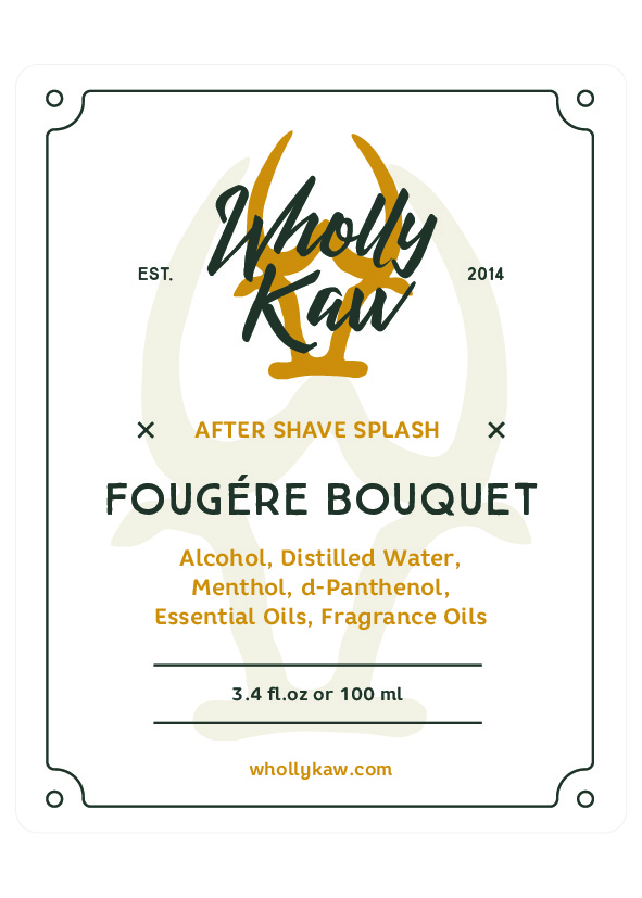 Wholly Kaw - Fougère Bouquet - Aftershave image