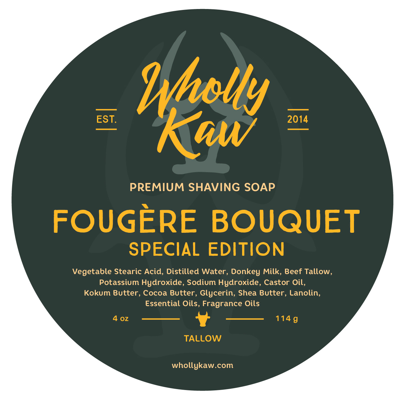 Wholly Kaw - Fougère Bouquet - Soap (LE) image