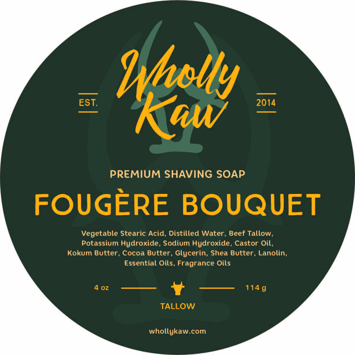 Wholly Kaw - Fougère Bouquet - Soap image