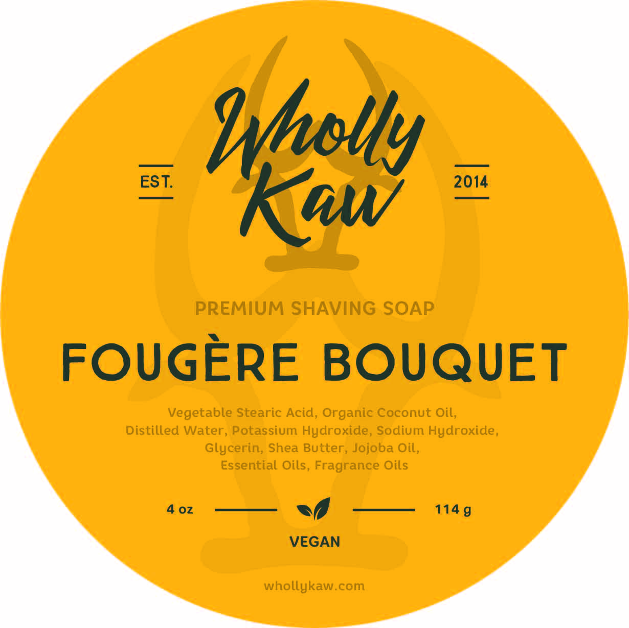 Wholly Kaw - Fougère Bouquet - Soap (Vegan) image