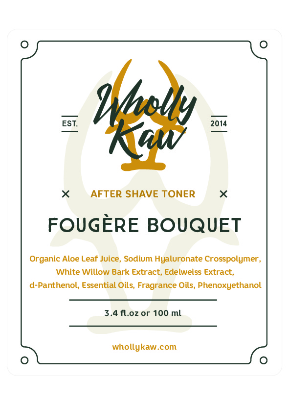 Wholly Kaw - Fougère Bouquet - Toner image