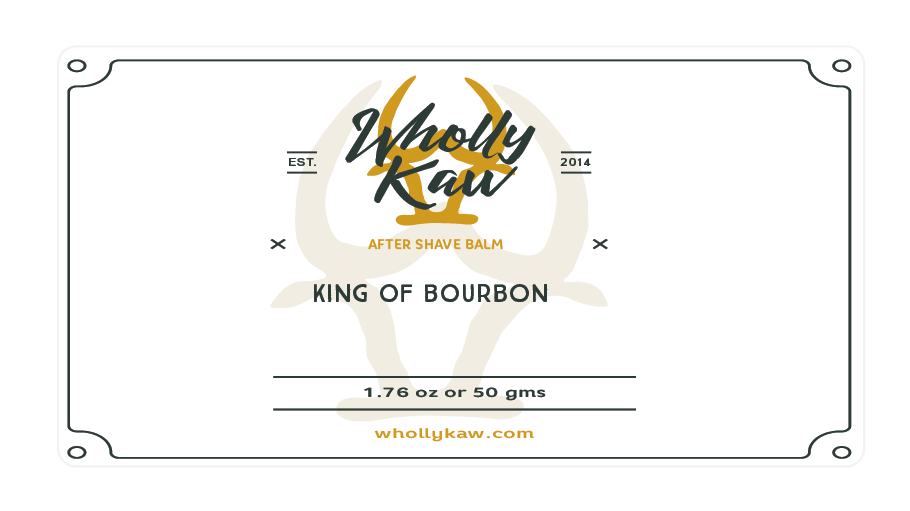 Wholly Kaw - King of Bourbon - Balm image