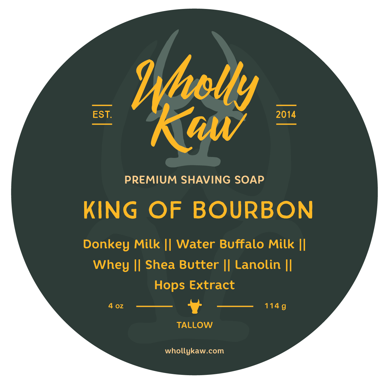Wholly Kaw - King of Bourbon - Soap image