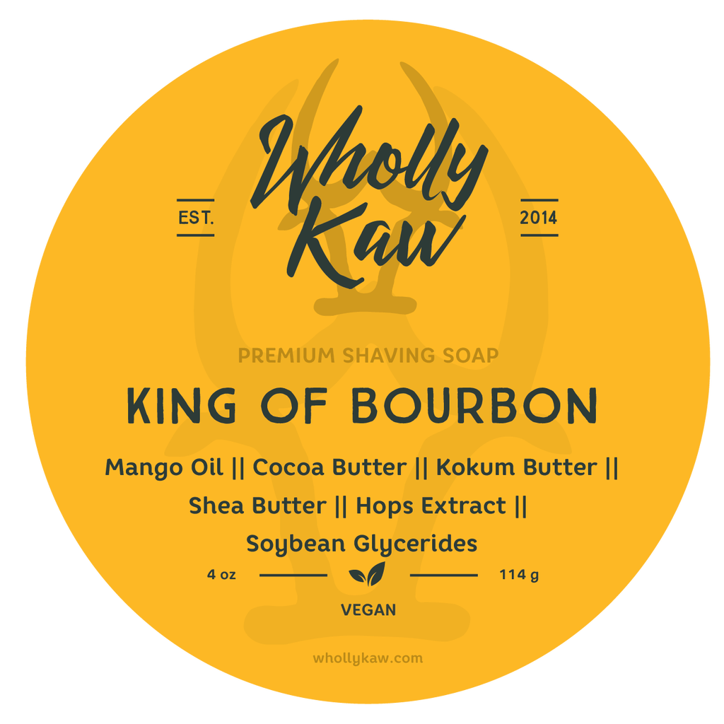 Wholly Kaw - King of Bourbon - Soap (Vegan) image