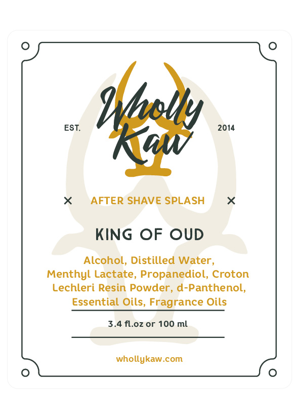 Wholly Kaw - King of Oud - Aftershave image