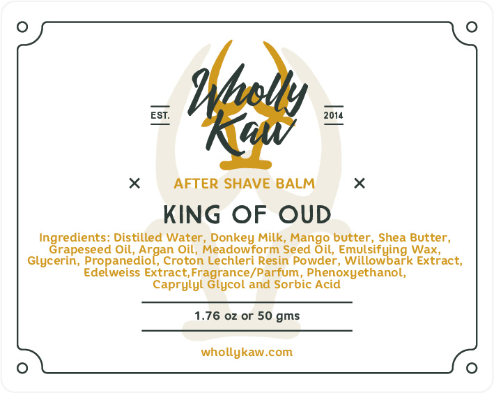 Wholly Kaw - King of Oud - Balm image