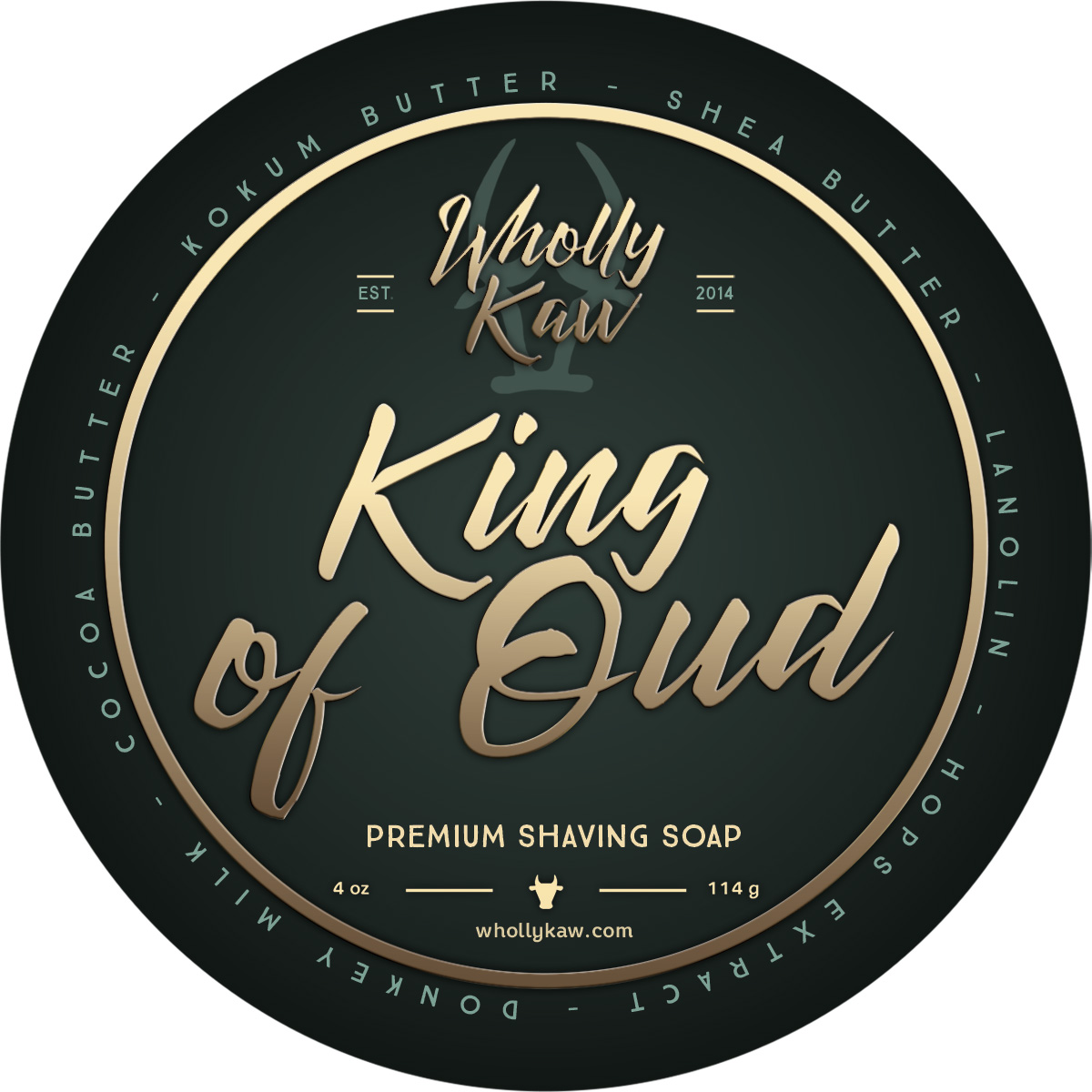 Wholly Kaw - King of Oud - Soap image