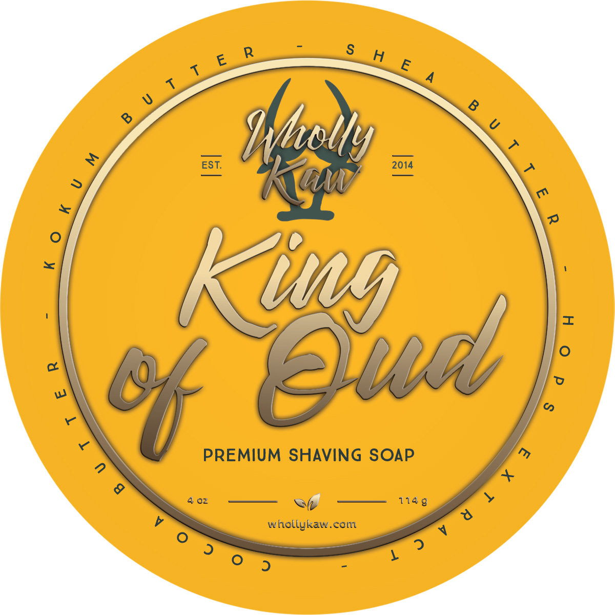Wholly Kaw - King of Oud - Soap (Vegan) image