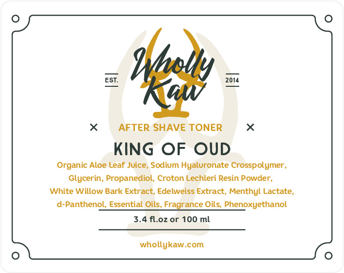 Wholly Kaw - King of Oud - Toner image