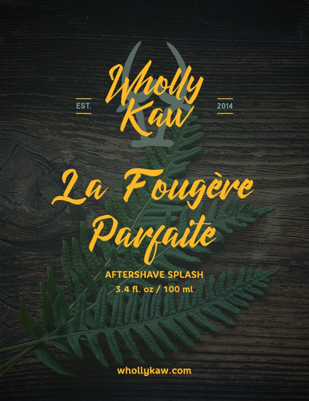 Wholly Kaw - La Fougère Parfaite - Aftershave image