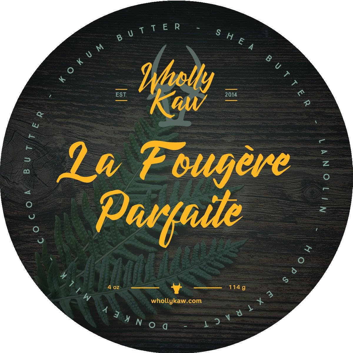 Wholly Kaw - La Fougère Parfaite - Soap image