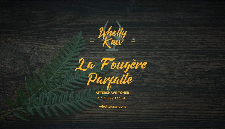 Wholly Kaw - La Fougère Parfaite - Toner image