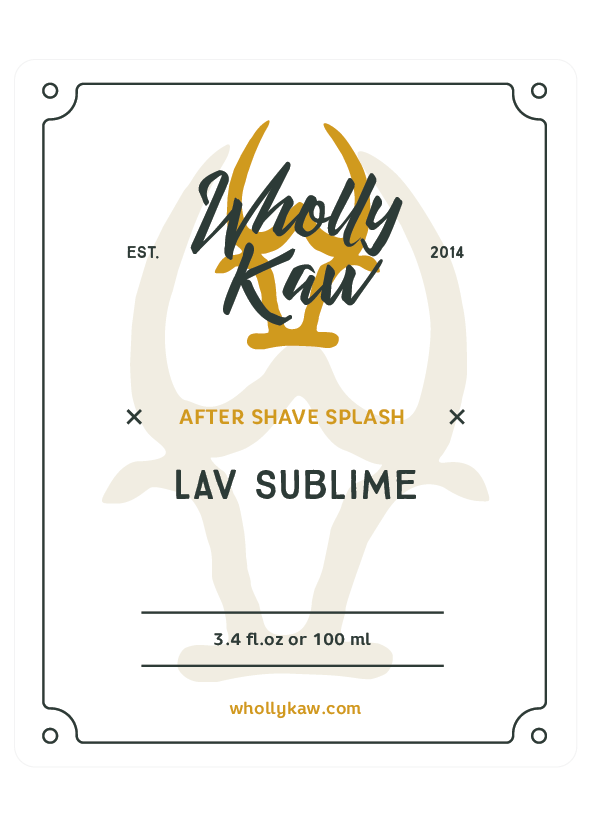 Wholly Kaw - Lav Sublime - Aftershave image