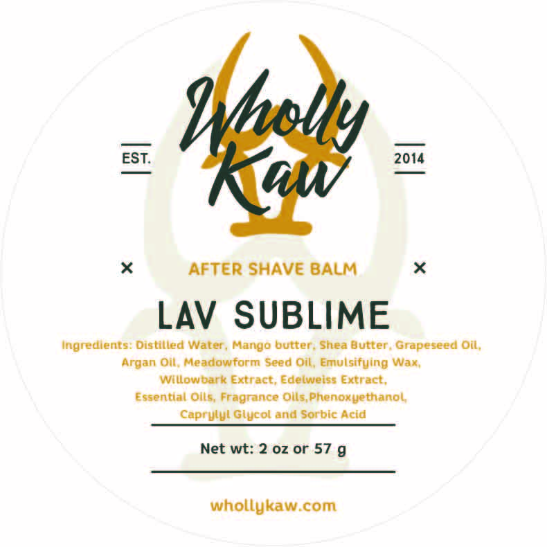Wholly Kaw - Lav Sublime - Balm image