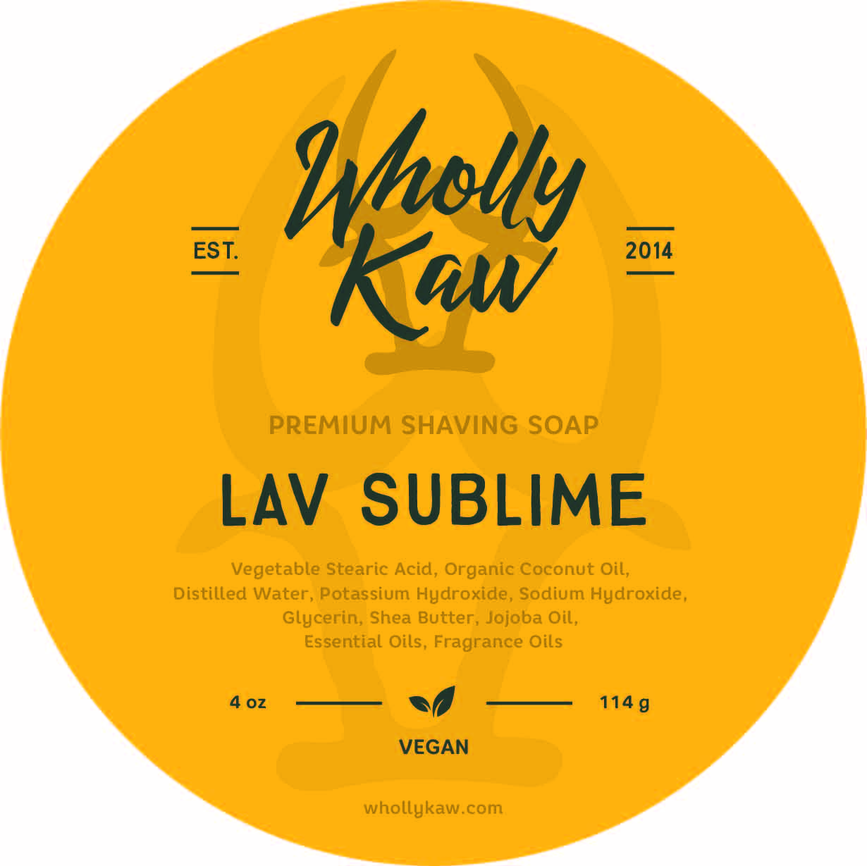Wholly Kaw - Lav Sublime - Soap (Vegan) image