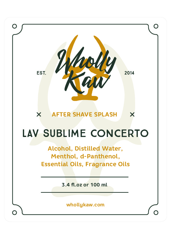 Wholly Kaw - Lav Sublime Concerto - Aftershave image