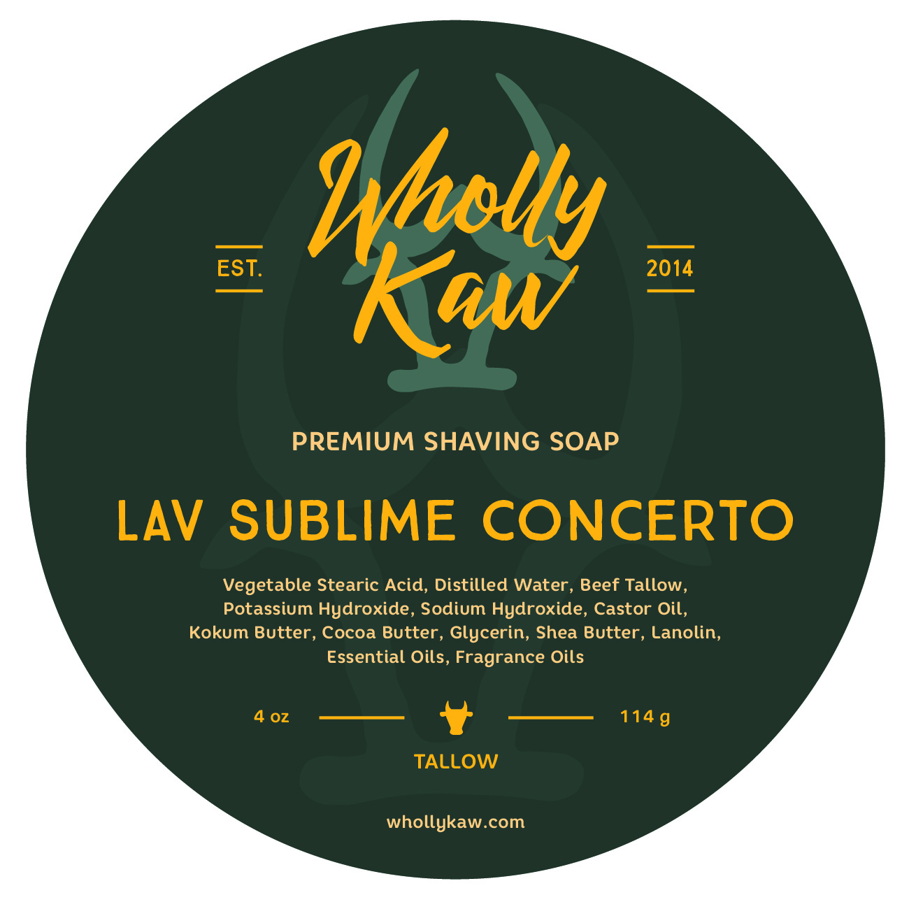 Wholly Kaw - Lav Sublime Concerto - Soap image