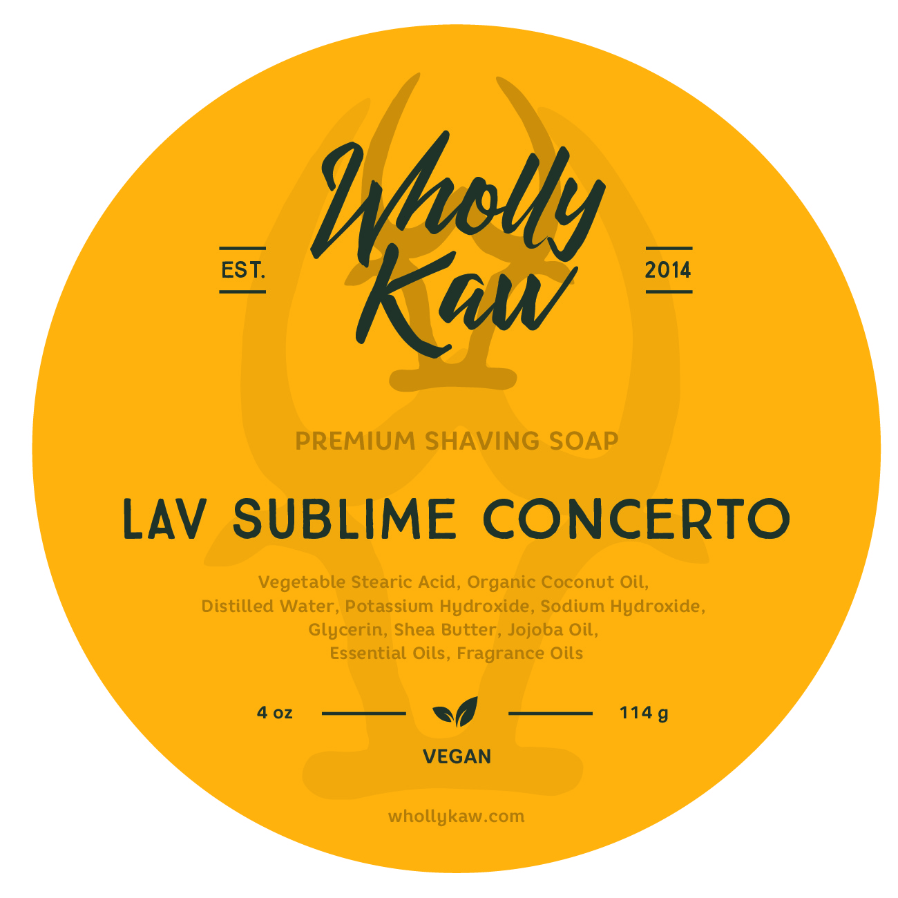 Wholly Kaw - Lav Sublime Concerto - Soap (Vegan) image