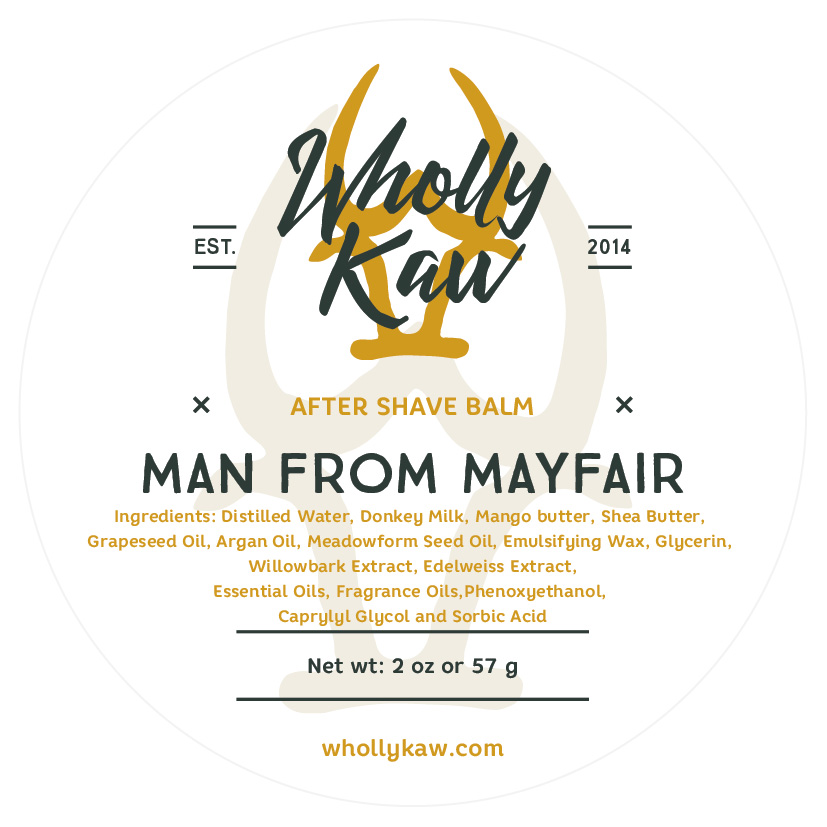 Wholly Kaw - Man From Mayfair - Balm image