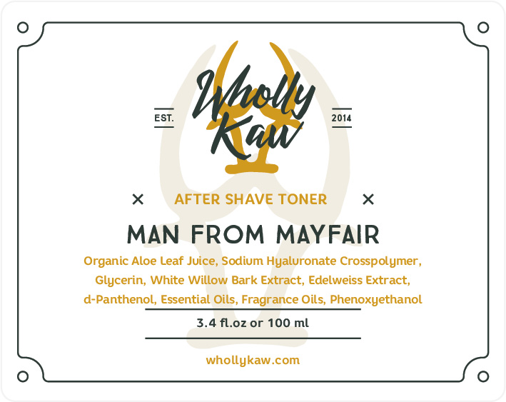 Wholly Kaw - Man From Mayfair - Toner image