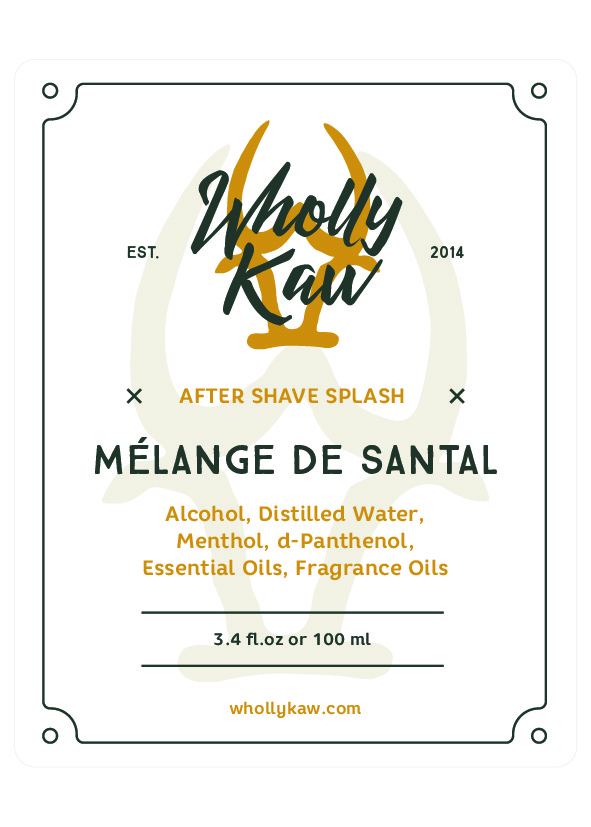 Wholly Kaw - Mélange de Santal - Aftershave image