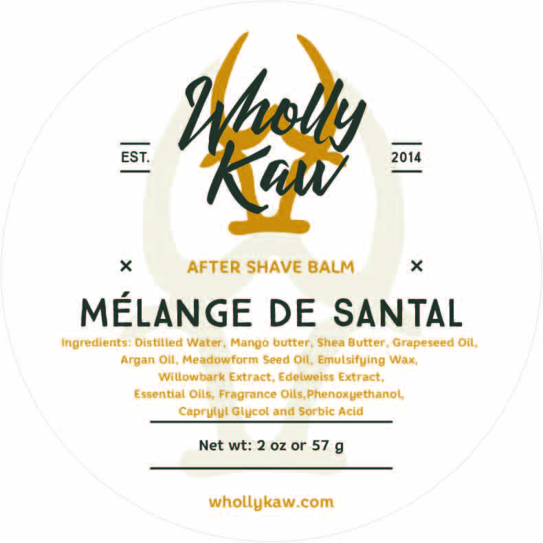 Wholly Kaw - Mélange de Santal - Balm image