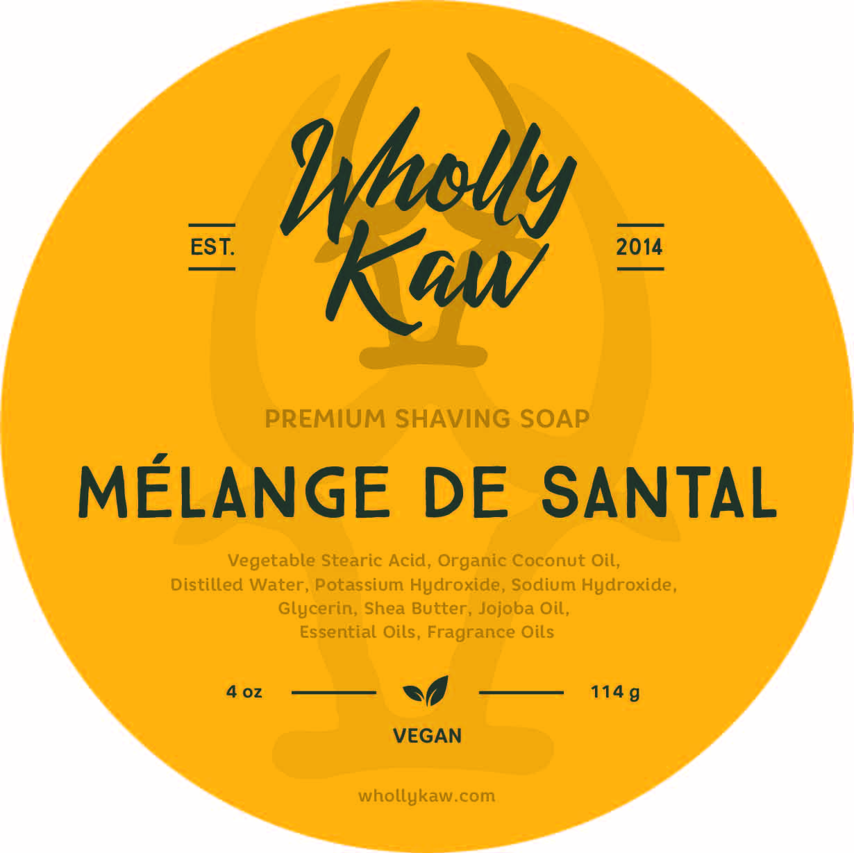 Wholly Kaw - Mélange de Santal - Soap (Vegan) image