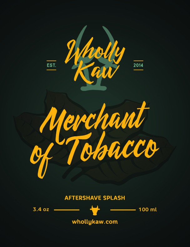 Wholly Kaw - Merchant of Tobacco - Aftershave image