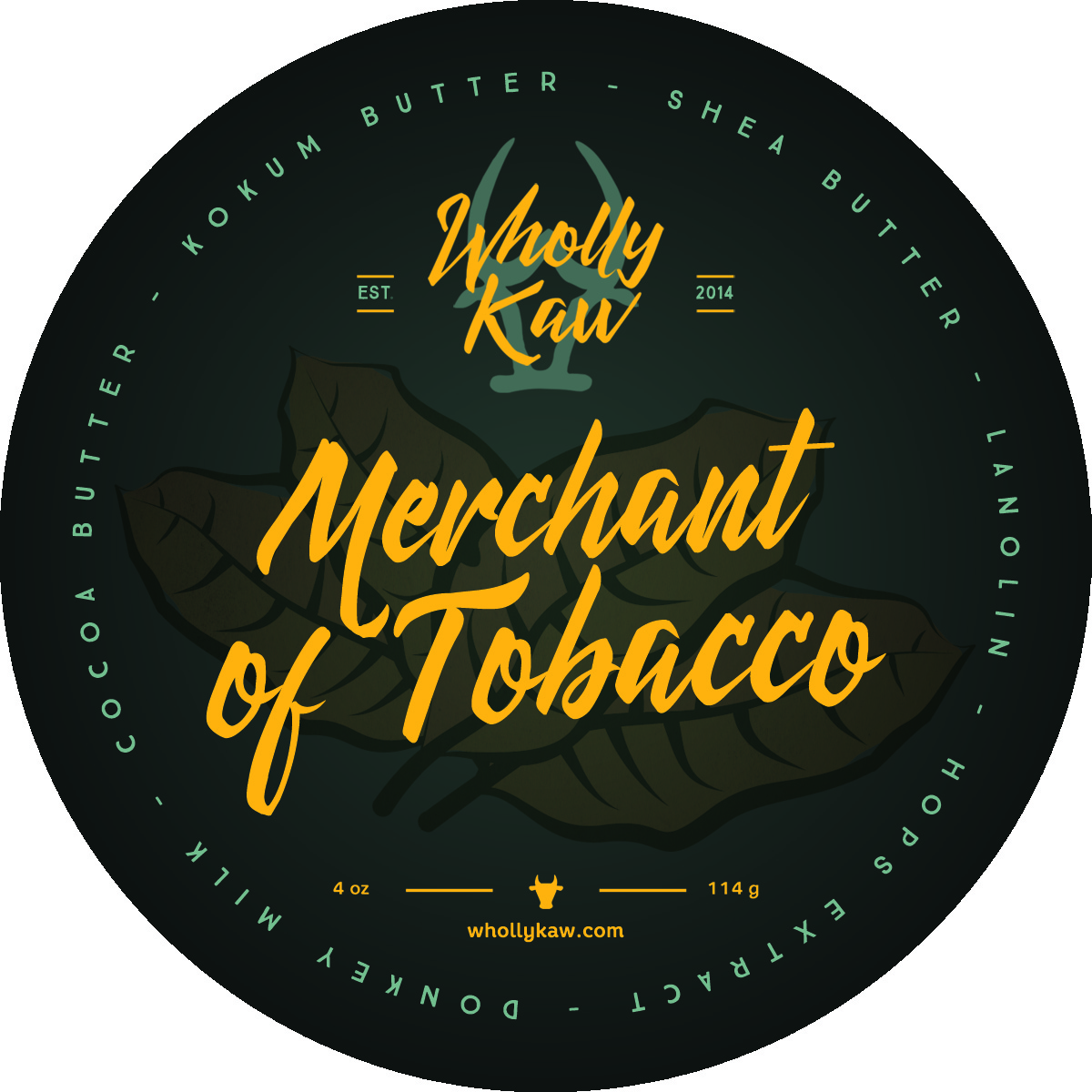 Wholly Kaw - Merchant of Tobacco - Soap image