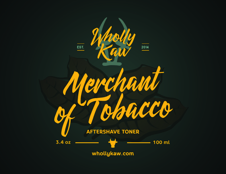 Wholly Kaw - Merchant of Tobacco - Toner image
