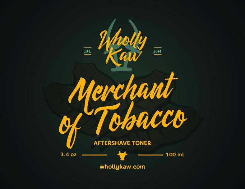 Wholly Kaw - Merchant of Tobacco - Toner image