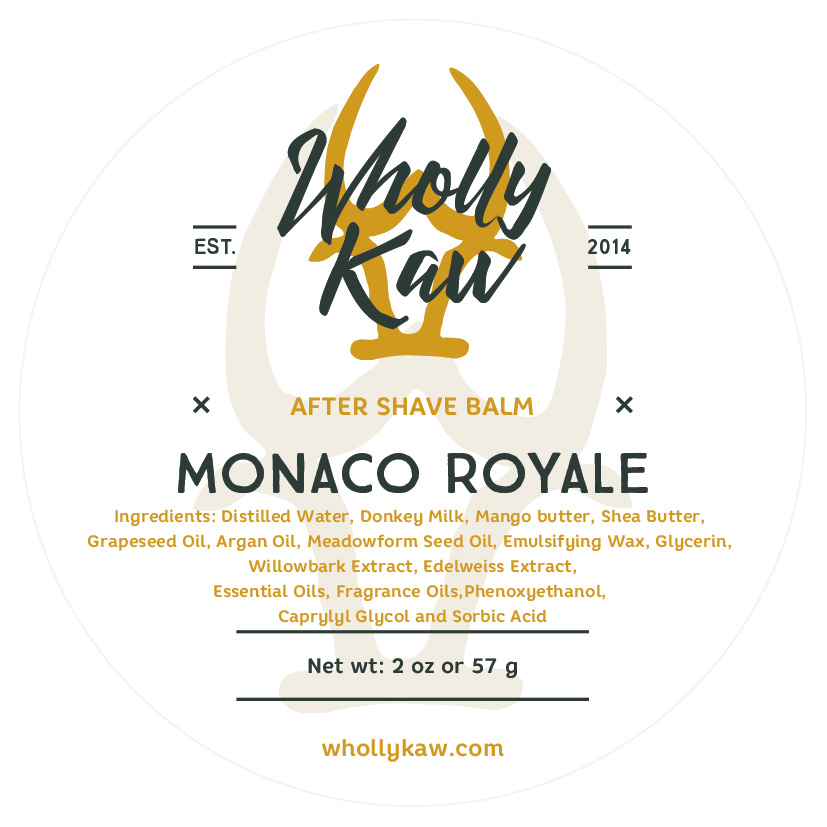 Wholly Kaw - Monaco Royale - Balm image