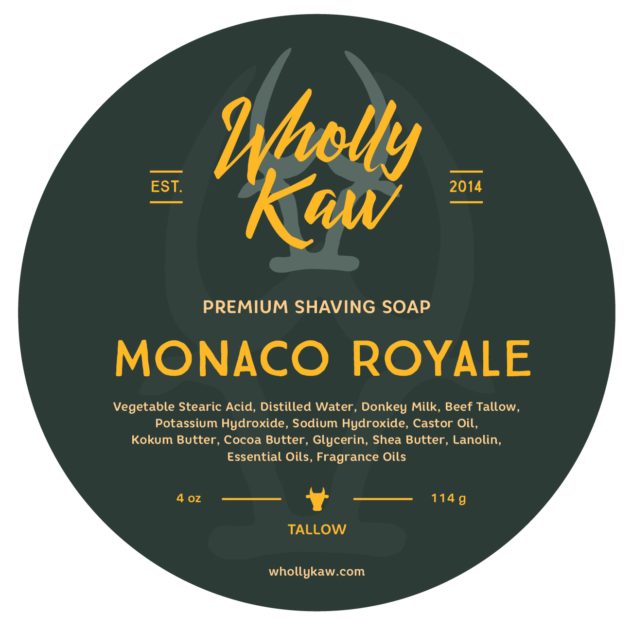 Wholly Kaw - Monaco Royale - Soap image