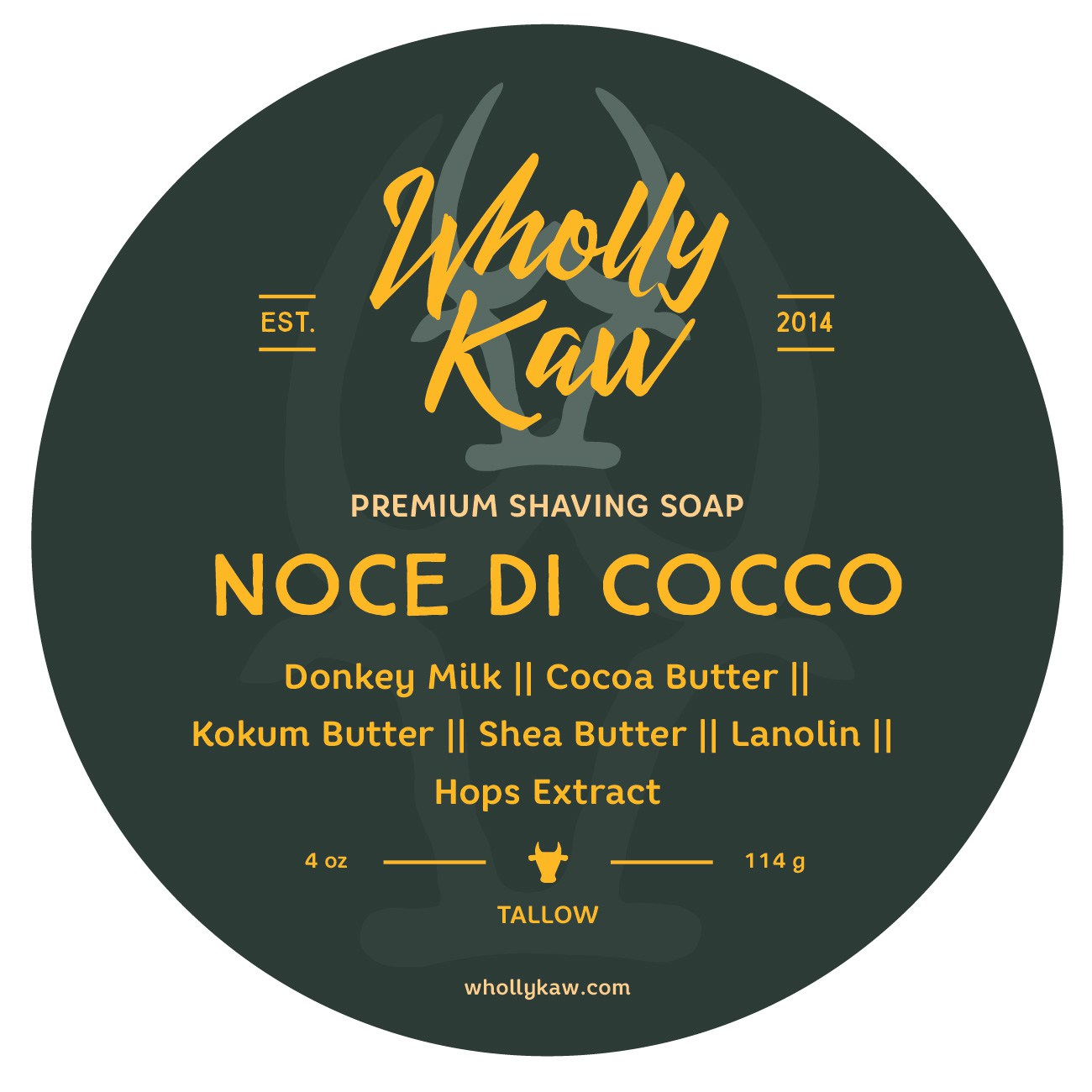 Wholly Kaw - Noce di Cocco - Soap image