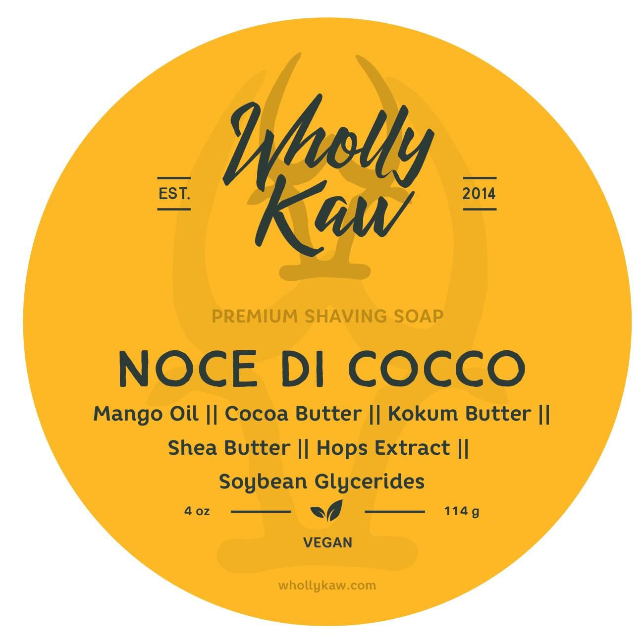 Wholly Kaw - Noce di Cocco - Soap (Vegan) image