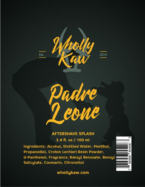 Wholly Kaw - Padre Leone - Aftershave image