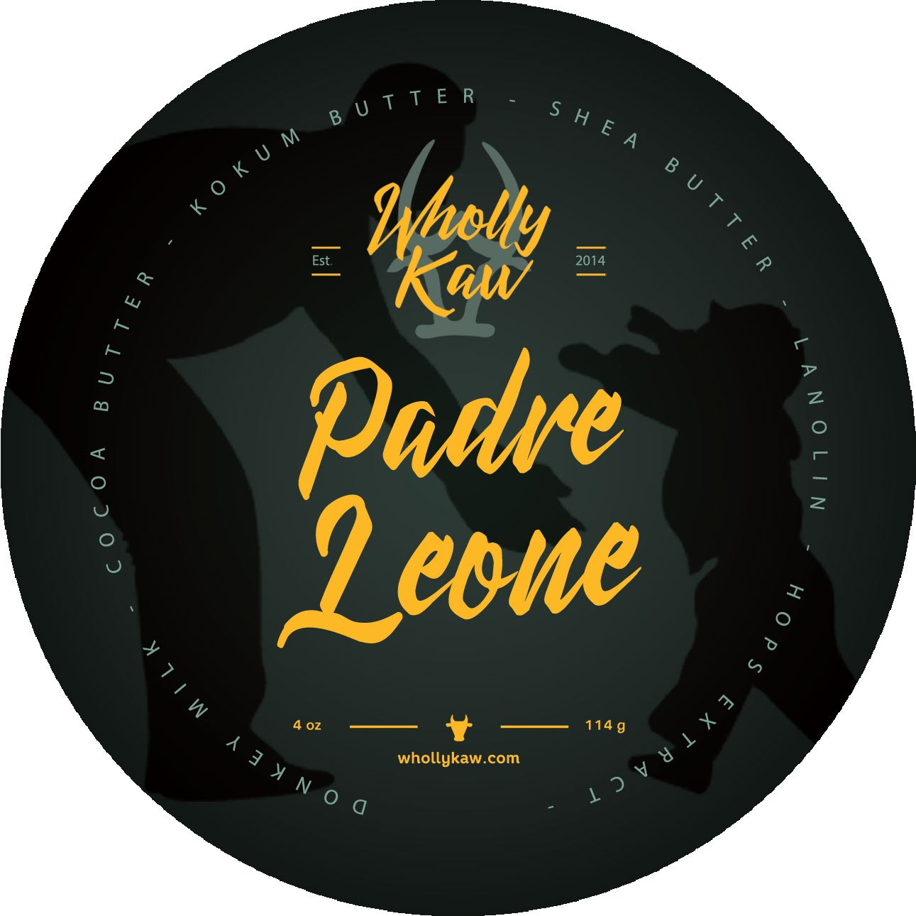 Wholly Kaw - Padre Leone - Soap image