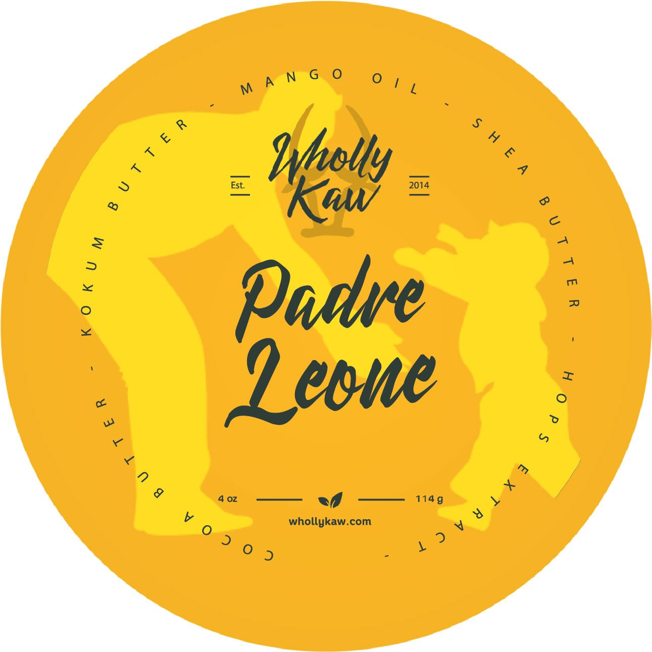 Wholly Kaw - Padre Leone - Soap (Vegan) image