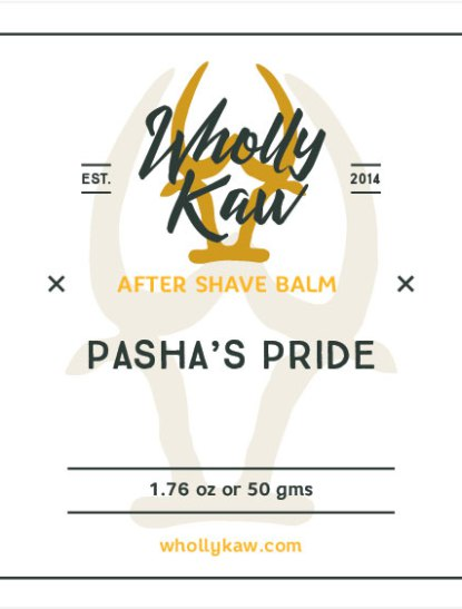 Wholly Kaw - Pasha's Pride - Balm image
